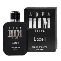 Lazell Aqua Him Black For Men Woda toaletowa 100 ml