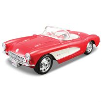 Model metalowy Chevrolet Corvette 1957 1:24 do składania Maisto
