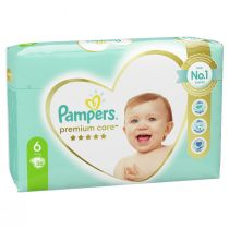 Pampers Pieluchy Extra Large 6 Premium Care (13+ kg) 38 szt.
