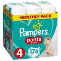 Pampers Pieluchomajtki Maxi Pants 4 (9-15 kg) Monthly Box 176 szt.