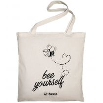 Allbag Bawełniana torba Bee yourself