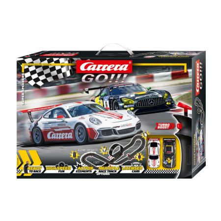 Carrera GO!!! - Super Speeders 6,2 m