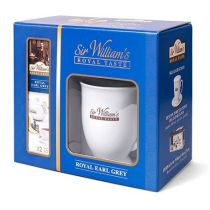 Sir Williams Zestaw prezentowy Royal, kubek + 12 herbat Earl Grey 36 g