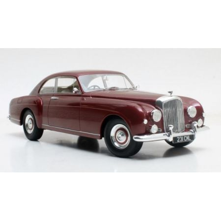 Bentley S1 Continental Fastback Mulliner 1955 (maroon) Cult Scale