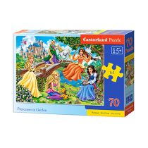 Puzzle 70 Princesses in Garden