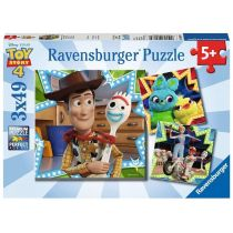 Puzzle 3x49 Toy Story 4 Ravensburger