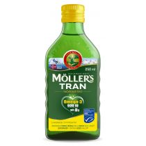 Moller`s Tran norweski suplement diety Cytryna 250 ml