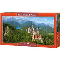 Puzzle 4000 Viev of the Neuschwanstein Castle Germany