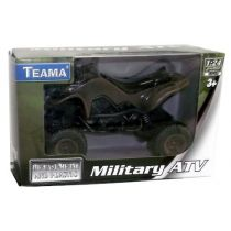 Pojazd Quad Military 1:24 Teama