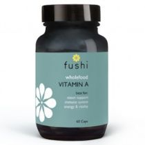 Fushi Whole food vitamin a - 60 kaps