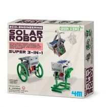 Green Science - Mini Robot solarny 3w1 Russell
