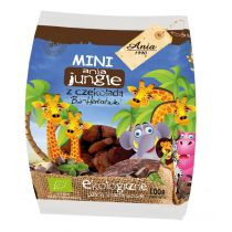 Bio Ania Ciastka z czekoladą mini jungle 100 g bio