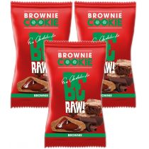BeRAW Cookie Brownie 3 x 20 g