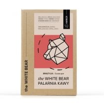 the White Bear Kawa ziarnista Brazylia Guaxupe 1 kg
