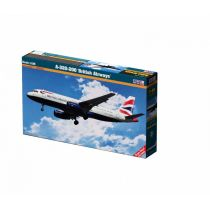 Model do sklejania A-320-200 British Airways Mistercraft