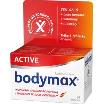Bodymax Active suplement diety 60 tab.