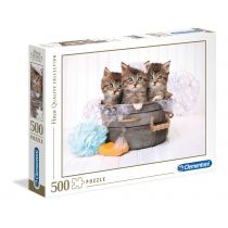 Puzzle High Quality Collection Kittens AND soap Clementoni