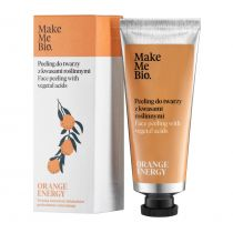 Make Me Bio Orange Energy Peeling do twarzy z kwasami roślinnymi 40 ml