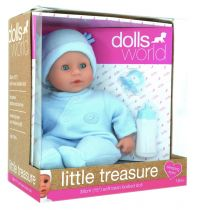 Lalka bobas. Little Treasure 38 cm Dolls World