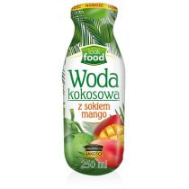 Look Food Woda kokosowa z sokiem mango 250 ml