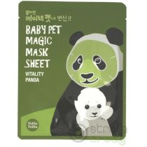 Holika Holika Baby pet Magic mask sheet Maska w płacie Vitality panda 1 szt.