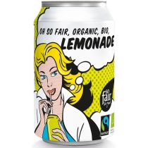 Oxfam Fair Trade Lemoniada fair trade (puszka) 330 ml Bio