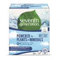 Seventh Generation Powered By Plants All - In - 1 Dishwasher Tablets tabletki do zmywarki Free & Clear 24 szt.