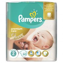 Pampers Pieluchy Mini 2 Premium Care (3 - 6 kg) 80 szt.