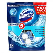 Domestos Power 5 kostka toaletowa Ocean 5 x 55 g