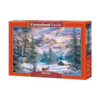 Puzzle 1000 Mountain Christmas CASTOR