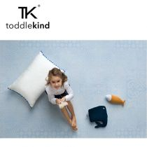 Toddlekind Mata do zabawy piankowa podłogowa Prettier Playmat Persian Sea Spray Blue