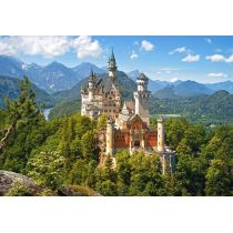 Puzzle 1500 Viev of the Neuschwanstein CASTOR