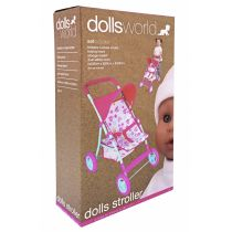 Wózek spacerowy dla lalek do 56 cm. Deluxe Dolls World