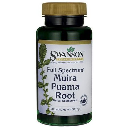 Swanson, Usa Swanson Full Spectrum Muira Puama Root 400mg 90 kaps.