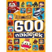Robot Trains. 600 naklejek