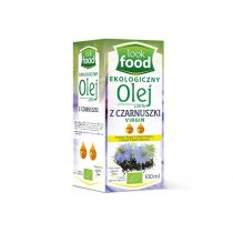 Look Food Olej z czarnuszki 100% virgin 100 ml Bio