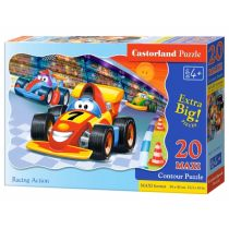 Puzzle 20 maxi - Racing action CASTOR