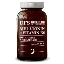 Diet-Food Melatonina + wit. B6 150 mg 60 kaps.