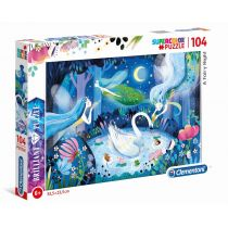Puzzle 104 Brilliant A Fairy Night Clementoni