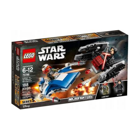 LEGO Star Wars. A-Wing kontra TIE Silencer 75196