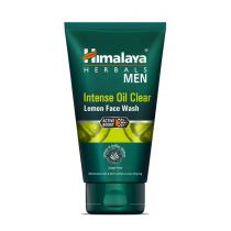 Himalaya Żel do mycia twarzy, MEN Intense Oil clear Lemon fresh, 100 ml