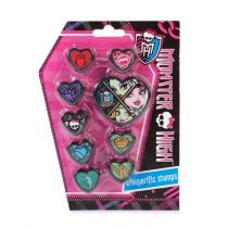 Euro Trade Pieczątki Monster High MEGA CREATIVE 298285