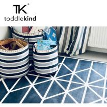 Toddlekind Mata do zabawy piankowa podłogowa Prettier Playmat Nordic Petroleum Dark Blue