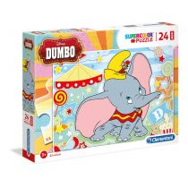 Puzzle Supercolor 24 Maxi Dumbo