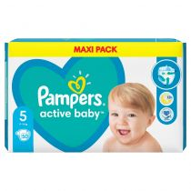 Pampers Pieluszki Junior 5 Active Baby-dry (11-16 kg) Maxi Pack 51 szt.