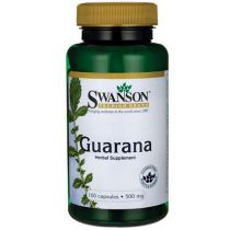 Swanson, Usa Swanson guarana 500mg 100 kaps