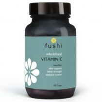 Fushi Whole food vitamin c - naturalna witamina c 60 kaps