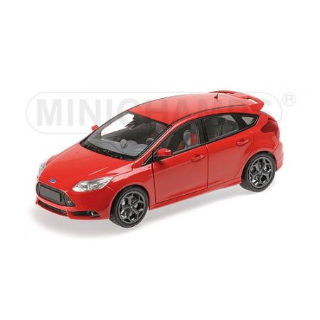 Ford Focus ST 2011 (red) Minichamps