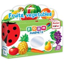 Foam Magnets: Fruits, vegetables