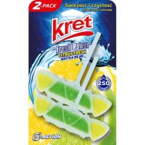 Kret Zawieszka do WC Citrus Fresh 2 x 40 g